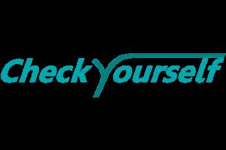CheckYourself logo voor blogs