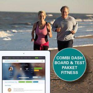 combi dashboard & testpakket fitness