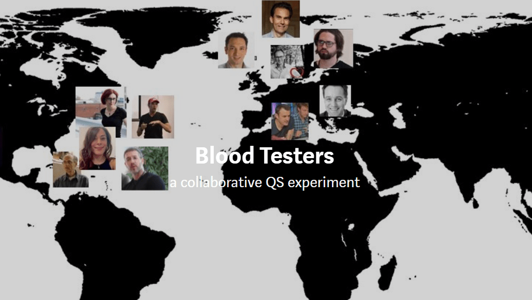 Blood Testers Project, Quantified Self